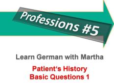 Professions 5 - Patients History 1